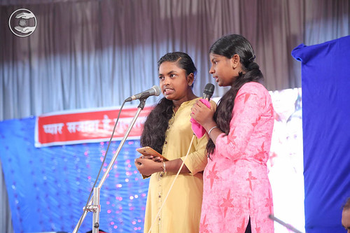 Devotional song by Amisha and Saathi from Calicut