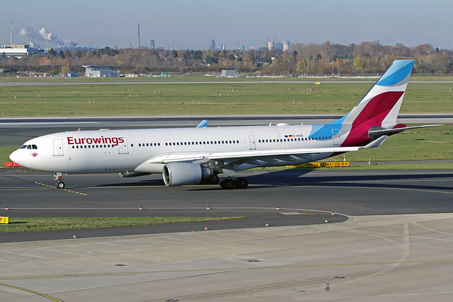 Eurowings Airbus A330-203 D-AXGD DUS 18-11-18