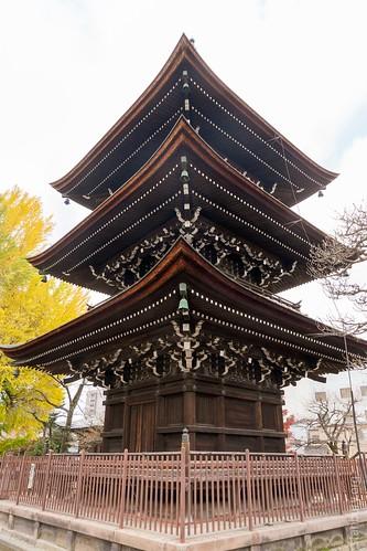 Hida Kokubun-ji 3-storey pagoda | by FlickrDelusions