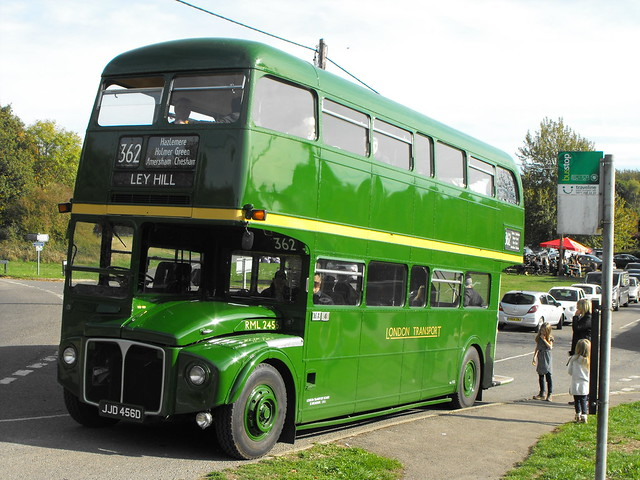 RML 2456, JJD 456D, AEC Routemaster @ Ley Hill 2018 (1)