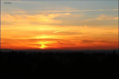 sunset sun clouds graham washington nature picmonkey