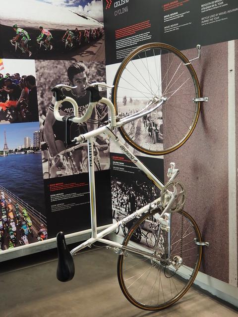 Bicicleta de Miguel Indurain utilitzada al Tour.