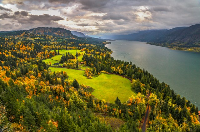 Cape Horn Overlook, Columbia River Gorge National Scenic Area