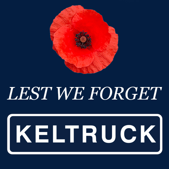Royal British Legion Poppy Appeal supported by Keltruck