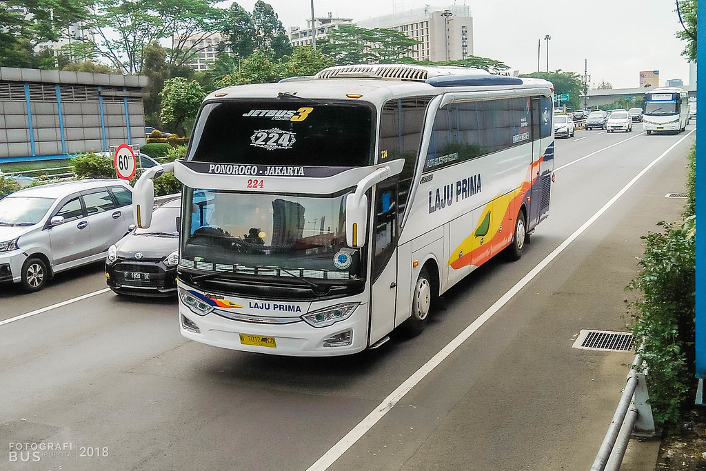 Laju Prima Lp 224 Hino Rk8 Adi Putro Jetbus 3 Hdd Semangg