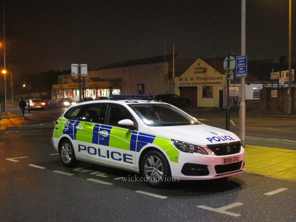 West Midlands Police Peugeot 308 estate BX18 GVU (BCPF04) | Flickr