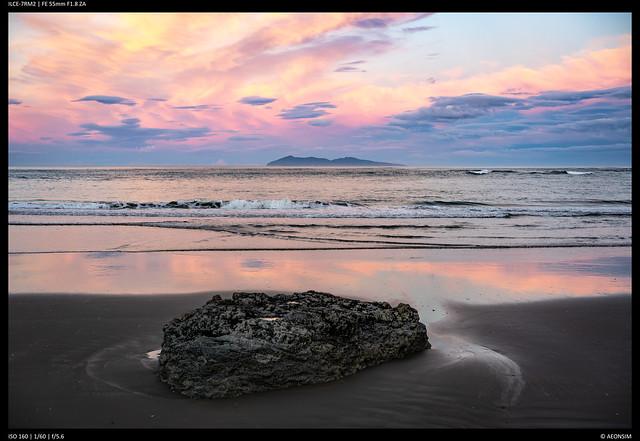 Mayor Island - Sunset
