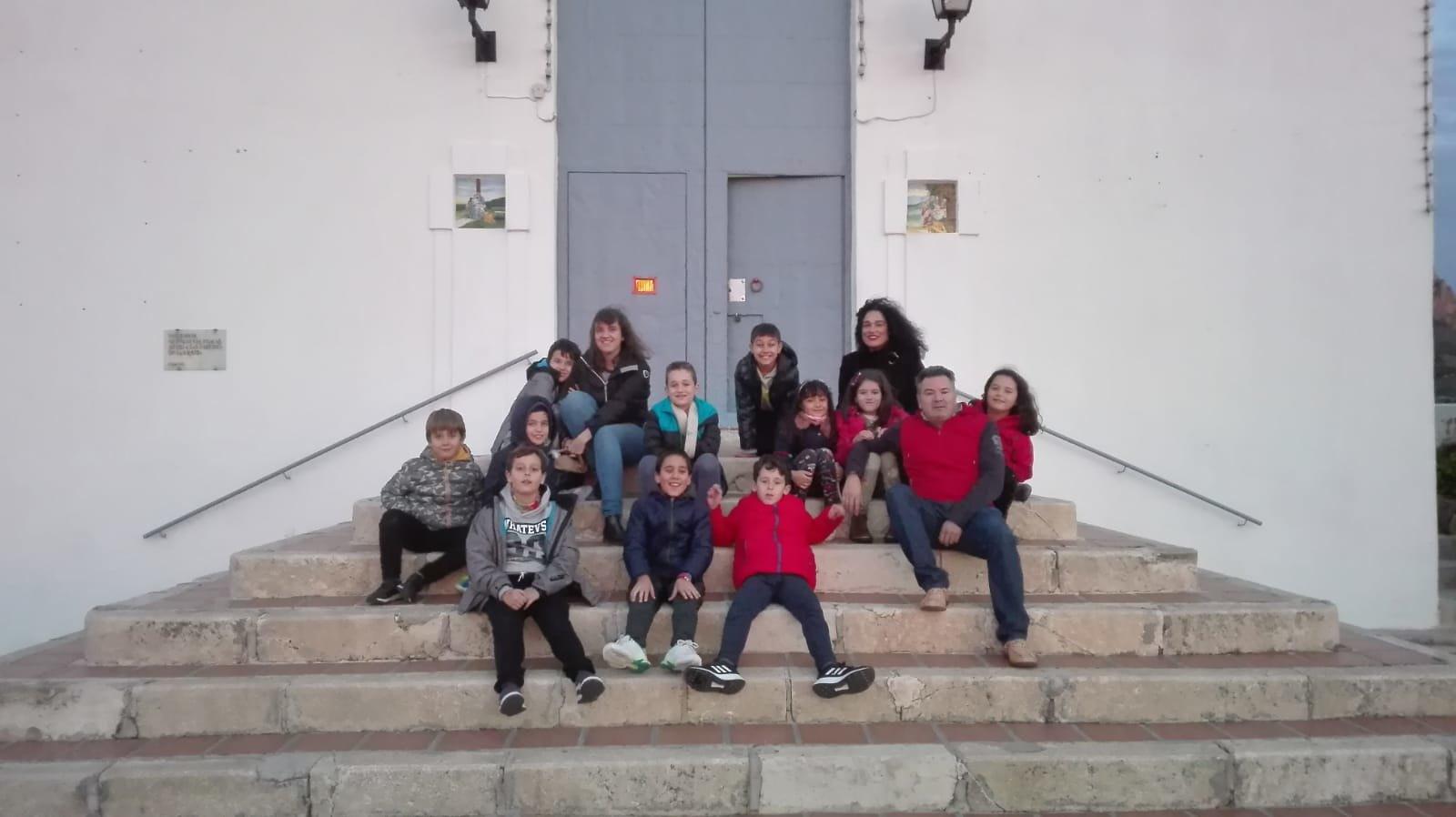 (2018-11-23) - Visita ermita  Esther-Maria Mercedes,2º,Catequesis - Vicente Rico (12)