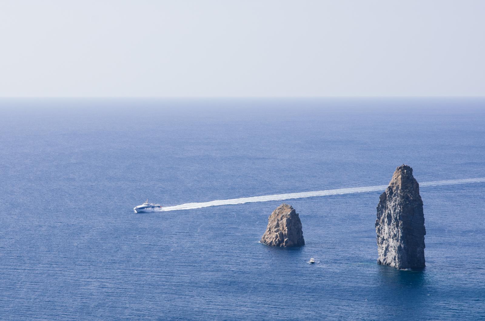 Îles éoliennes - L'aliscaf et les doigts d'éole