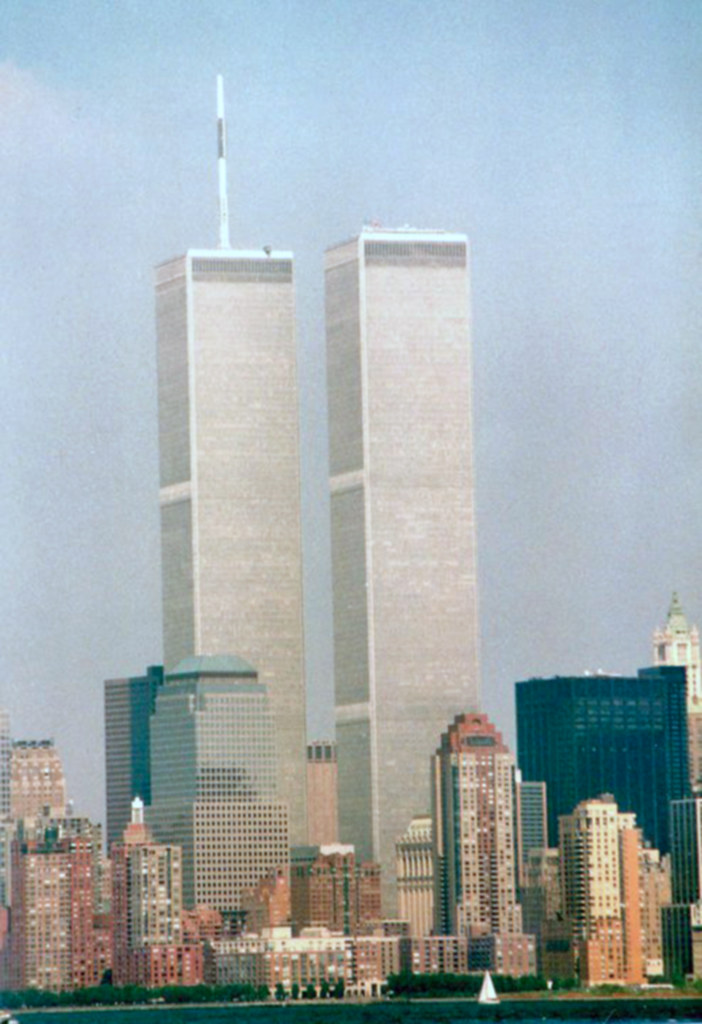 Twin Towers 1993 | Scan of the original 35 mm picture taken