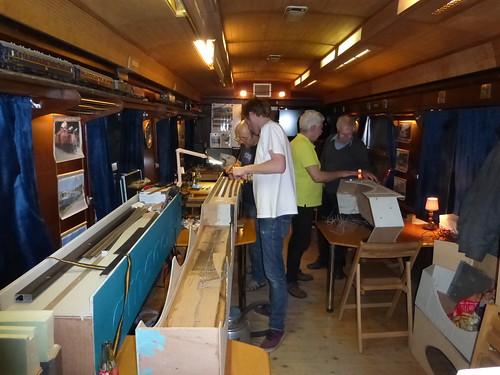 Bedraden schaduwstation   by AMSAC Ghent