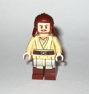 qui-gon jinn minifigure from lego 75169 lego star wars rogue one 2017 duel on naboo the phantom menace set c | by tjparkside