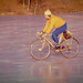 Riding on thick .....hopefully....... ice ! by DP the snapper
