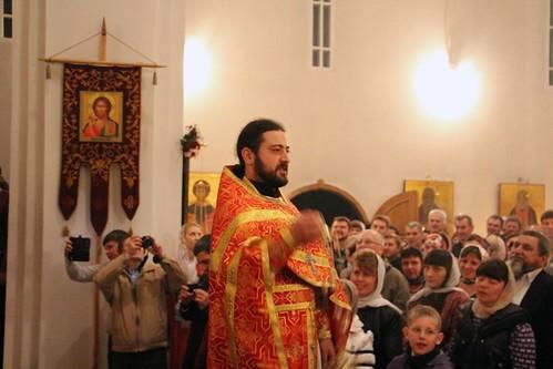 Пасхальное Богослужение в Свято-Никольском храме станицы Кавказской IMG_1339