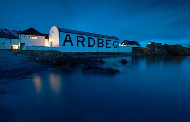 ARDBEG at night!