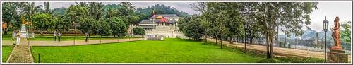 templeofthetooth kandy srilanka landscape panorama