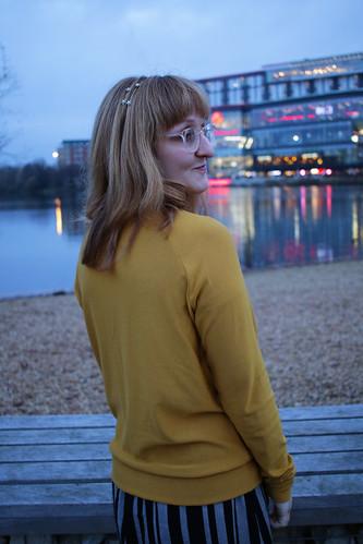 Mustard Grainline Studio Linden Sweatshirt   by English Girl at Home