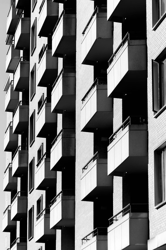 Tumbling Block Apartments