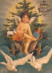 Postkarte / Weihnachtsgrüße