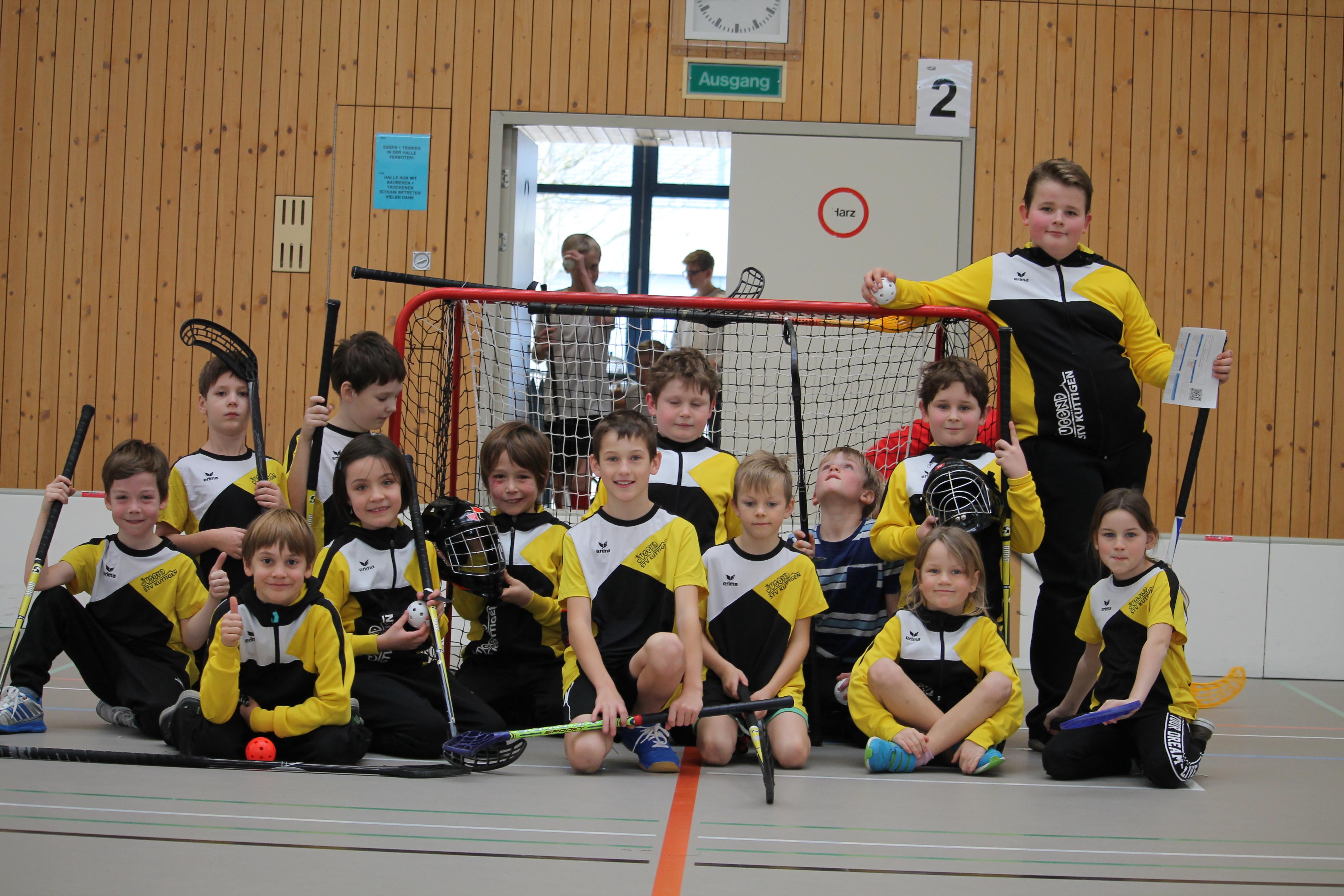 Unihockeyturnier Erlinsbach 2019
