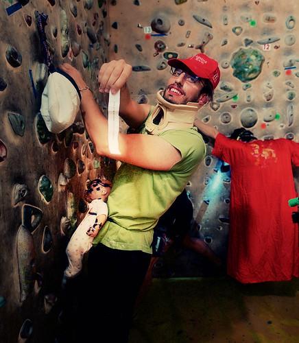 Fantasyclimbing corso di arrampicata il deposito di zio Paperone 43
