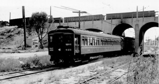 Two 'Red Cars head for the Shops. 1951 | by Metro Transportation Library and Archive