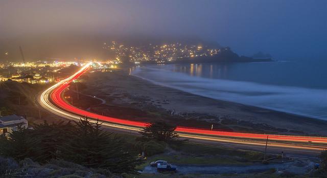 Evening Highway 1