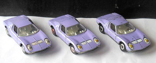 Rare Trio Of Light Purple Playart Lamborghini Muira Made C Flickr