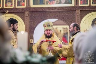 08.01.2019 | Литургия в Спасском соборе
