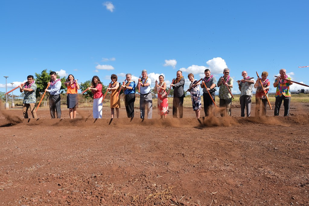 New Academy for Creative Media West O'ahu building Ground Breaking Ceremony