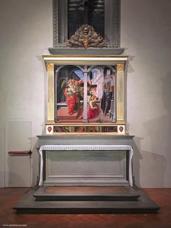 Complesso di San Lorenzo: Annunciazione Martelli