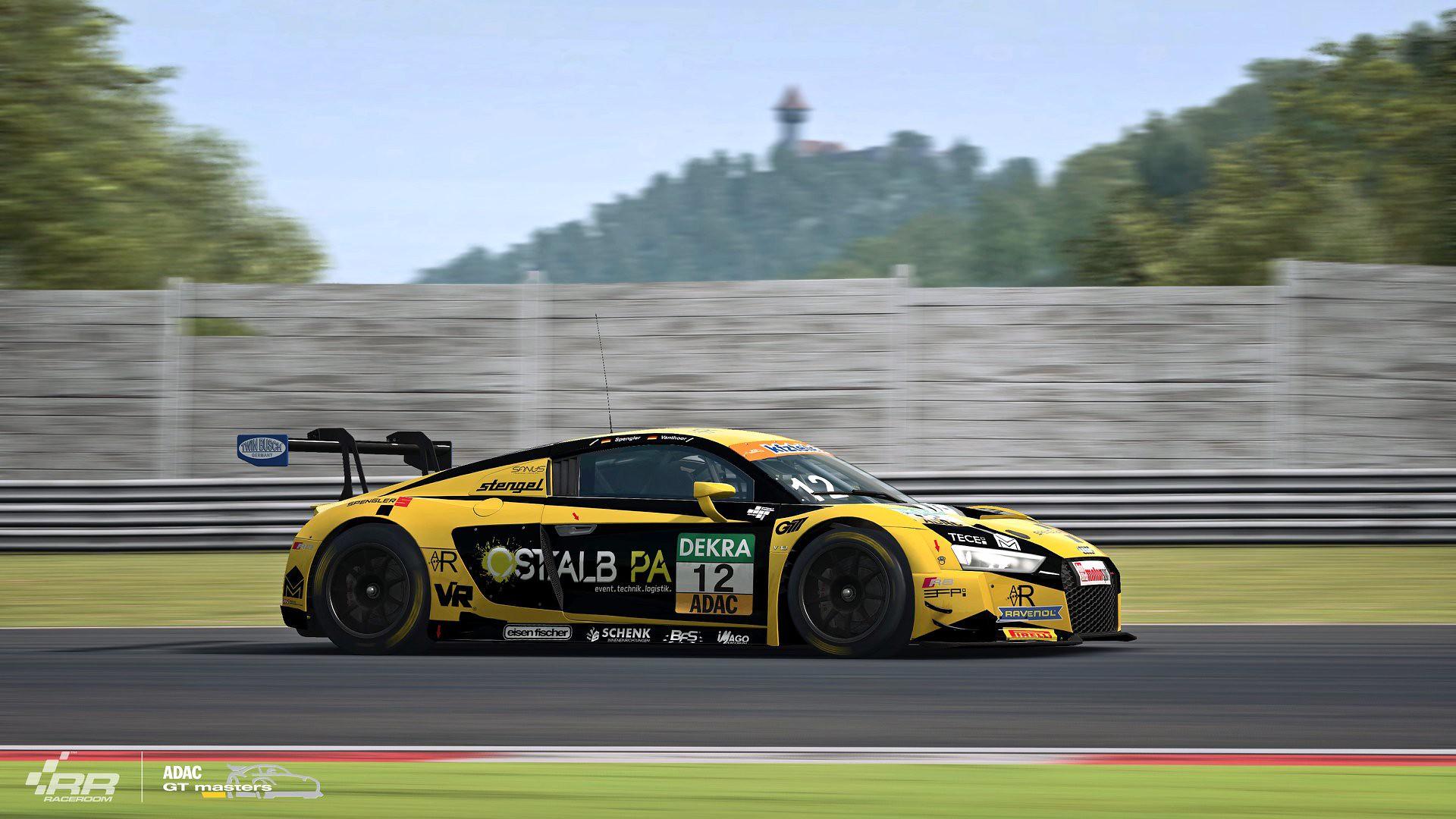 RaceRoom 2018 ADAC GT Audi 8