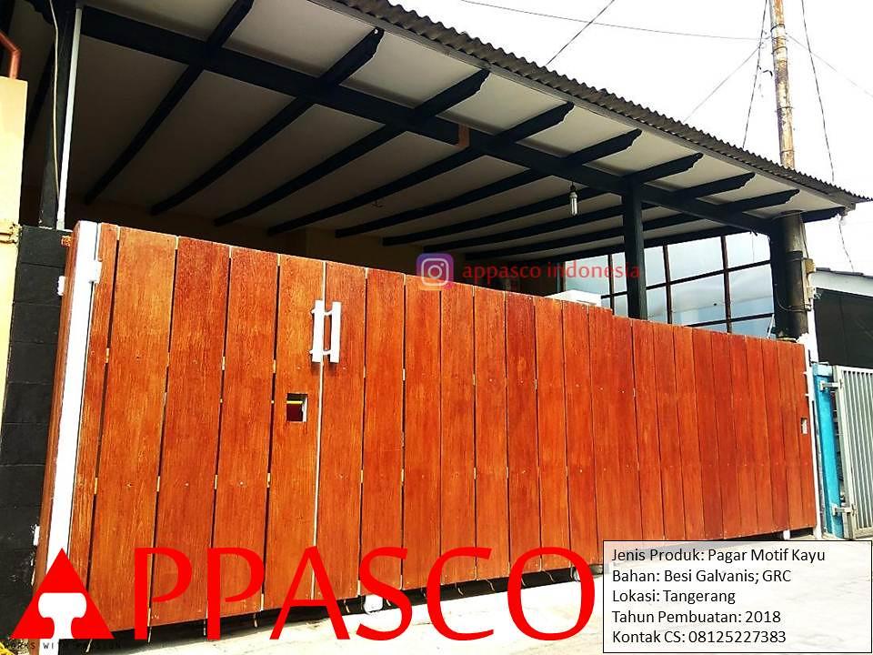 Pagar Rumah Minimalis Model Klasik Kayu Grc Di Tangerang