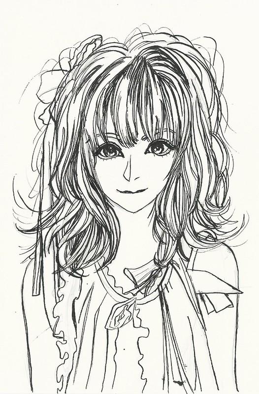 Kamei Eri Second Manga pen drawing II