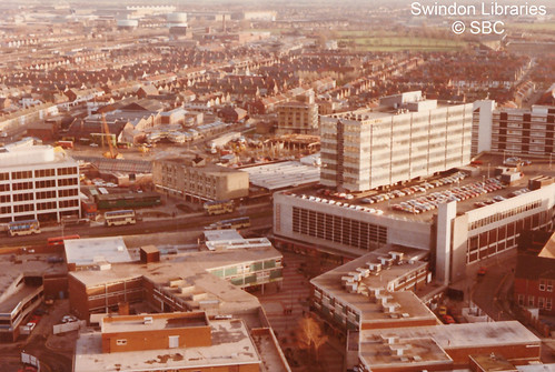 1980s?: Swindon town centre | by Local Studies, Swindon Central Library