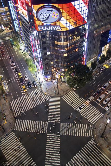 Sukiyabashi Crossing, Ginza - Tokyo (Japan)