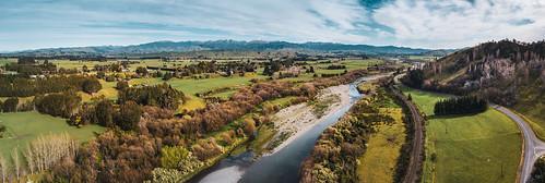 2018 country dji djimavicpro drone dronephotography landscape masterton newzealand northisland rural tararuaranges wellingtonregion winter ruamahangariver