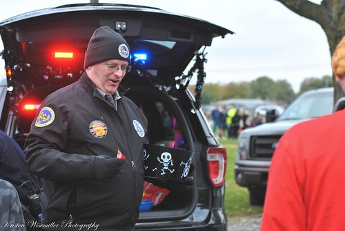 VIP Gholdson at Speedway's 2018 Trunk or Treat