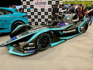LeMans e-sports series race car