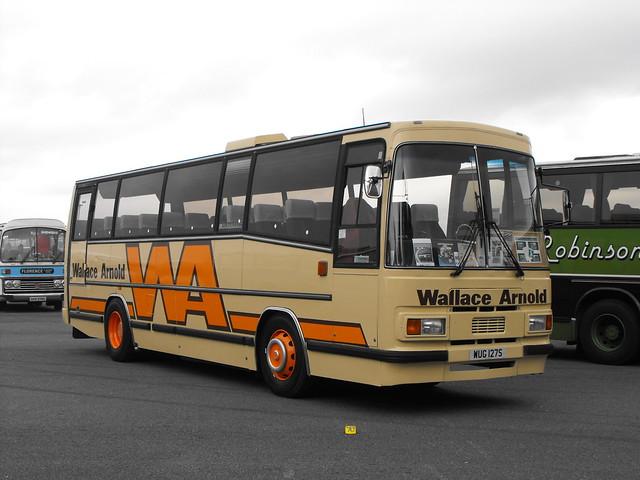 WUG 127S, Leyland Leopard, Plaxton Body (C45F) (1987), 1977  (t.2018)
