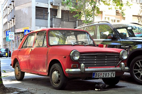 Postkarte   /> Oldtimer /<  FIAT SIMCA 1100 E
