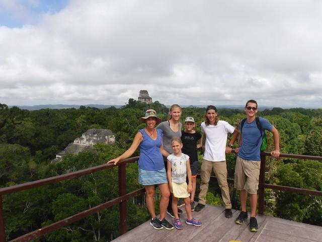Crew of Take Two, Tikal Mayan Ruins