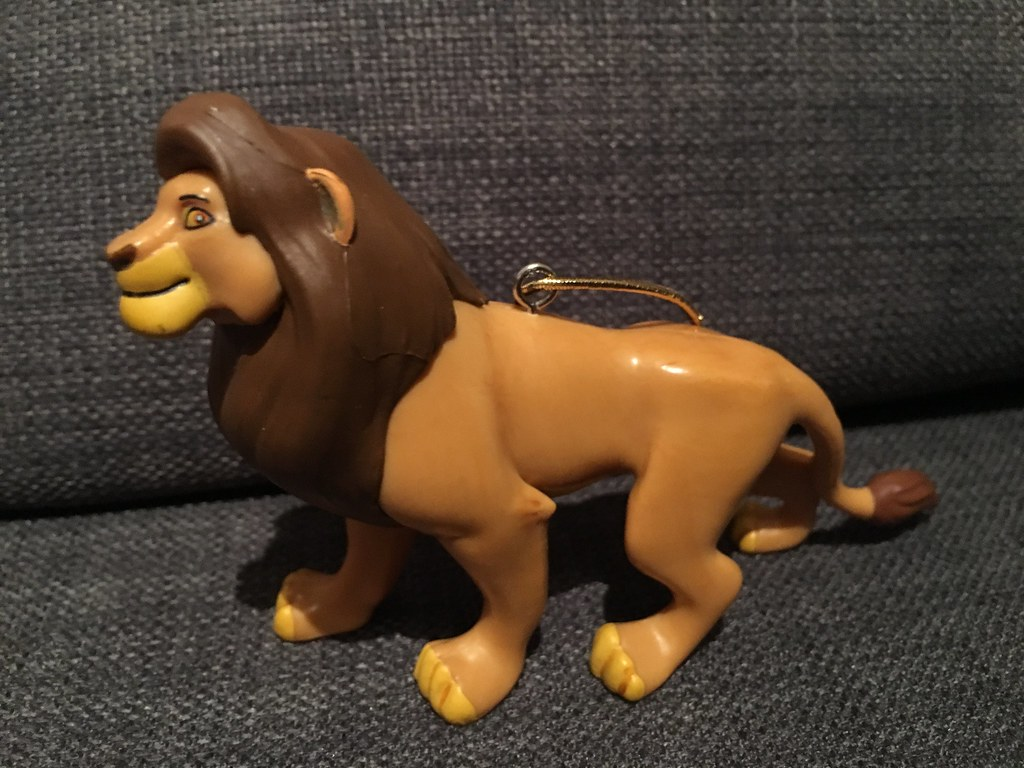 Disney The Lion King Adult Simba Christmas Ornament Flickr