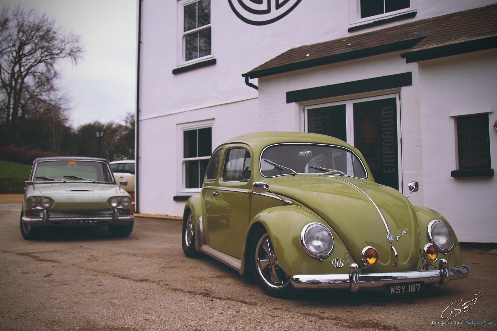 Beetle Outside