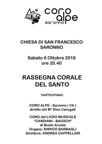 Volantino   by Coro Alpe di Saronno