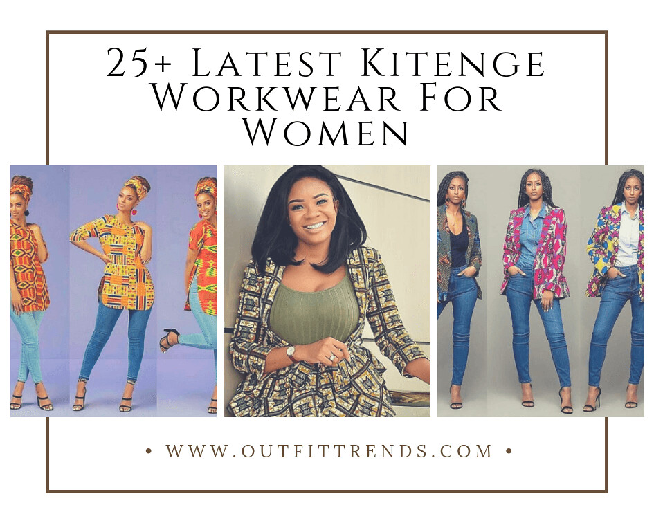 Kitenge Officewear 25 Best Kitenge Designs For Work A Photo On Flickriver