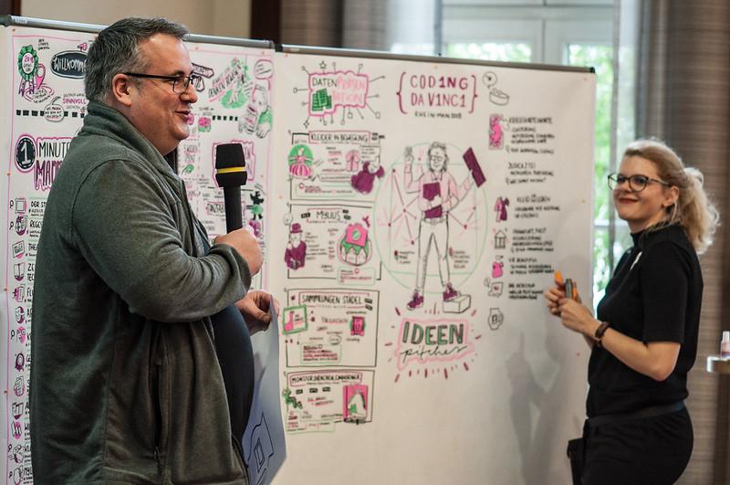 Kick-Off Coding da Vinci Rhein-Main 2018