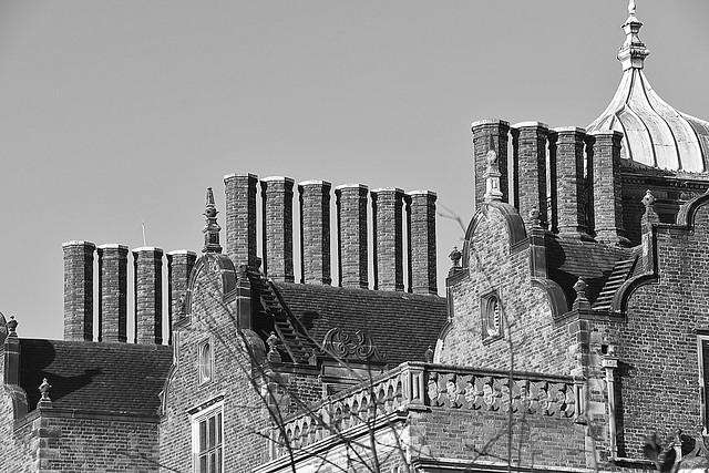 Chimneys Of Aston Hall