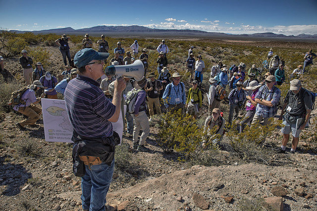 Dr. Greg Mack lectures at Point of Rocks