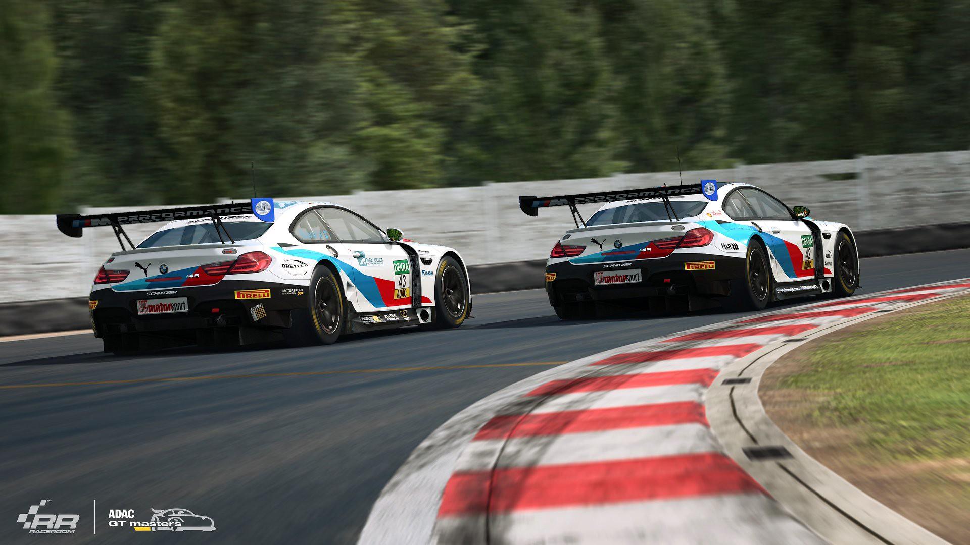 RaceRoom 2018 ADAC GT Update BMW M6 GT3 2